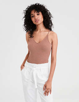 AE Basic V-Neck Bodysuit