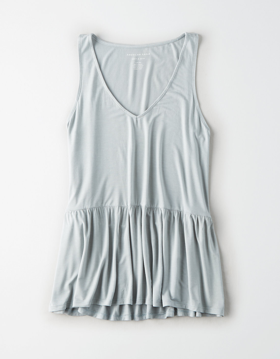 AE V-Neck Babydoll Tank Top
