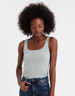 AE Square Neck Tank Top