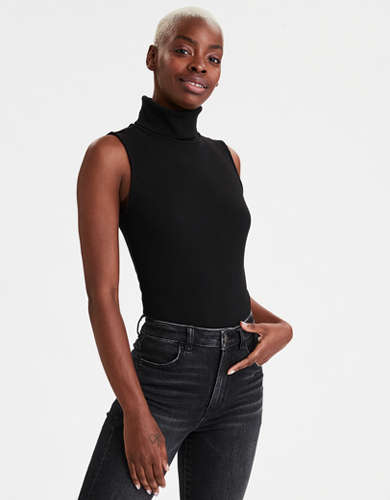 AE Mock Neck Bodysuit