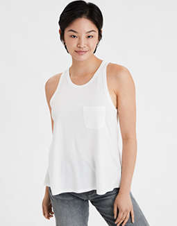 AE Racer Back Tank Top
