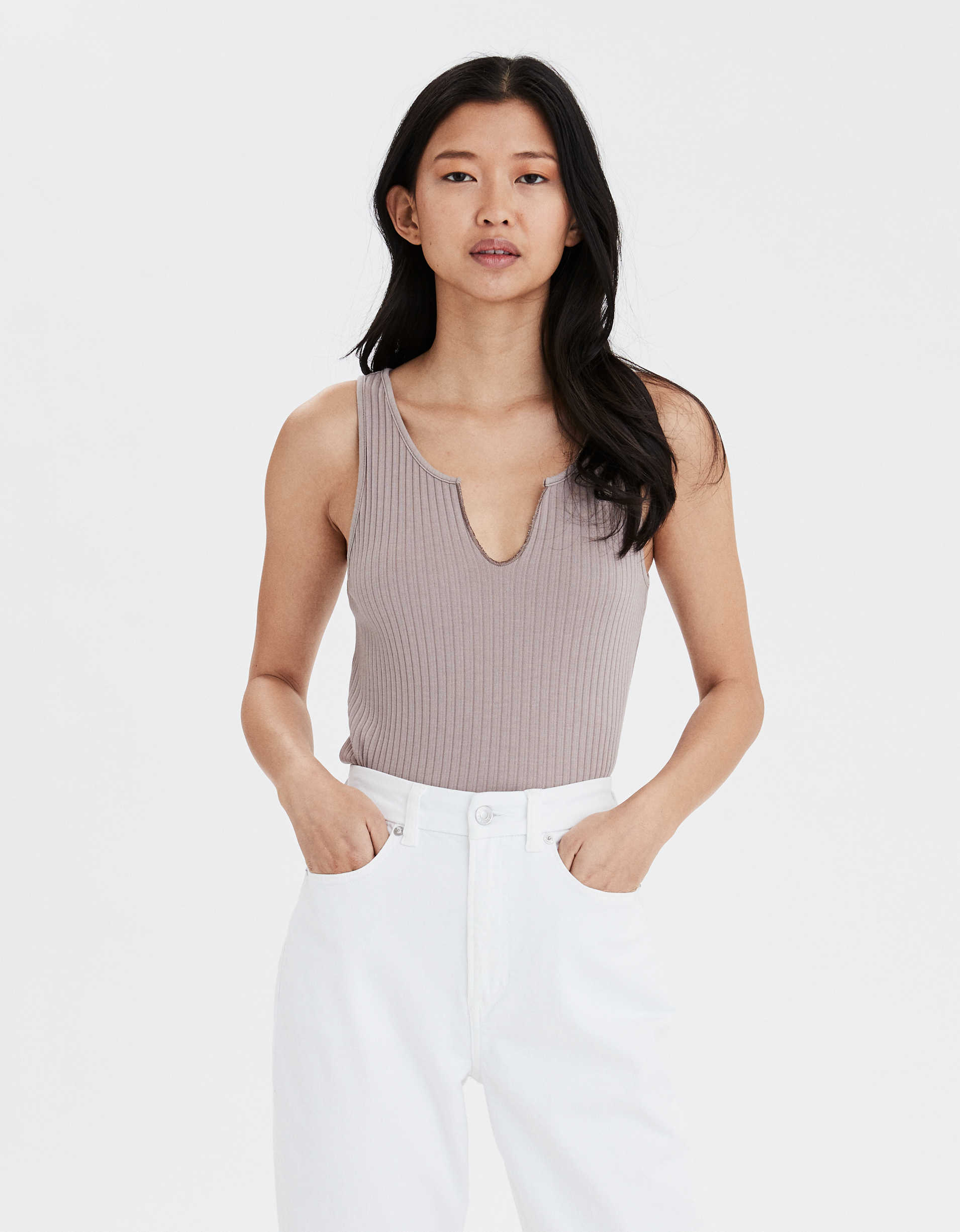 AE Notch Front Tank Top