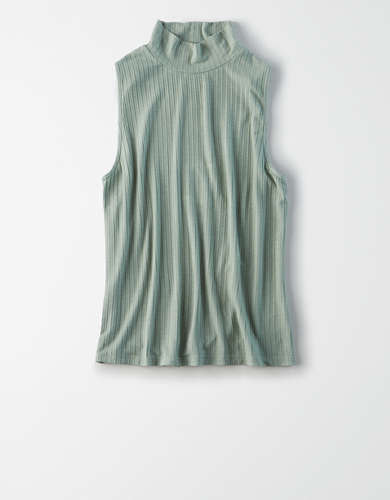 AE Mock Neck Tank Top