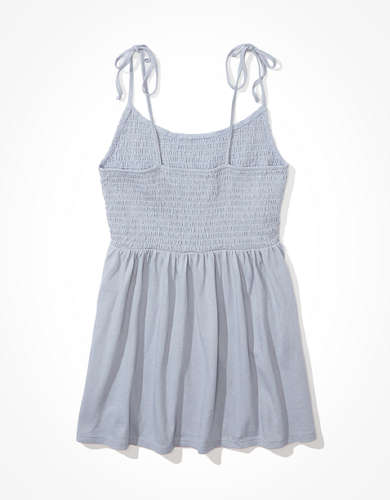 AE Smocked Babydoll Tank Top