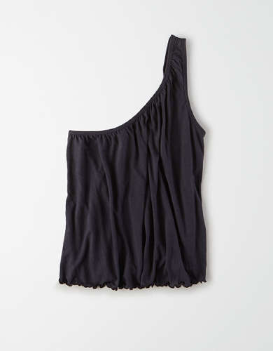 AE One Shoulder Swing Tank Top
