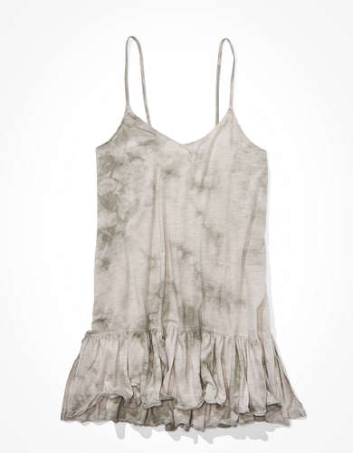 AE Ruffled Tunic Tank Top