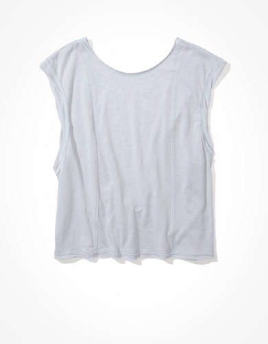 AE Boxy Cropped Tank Top