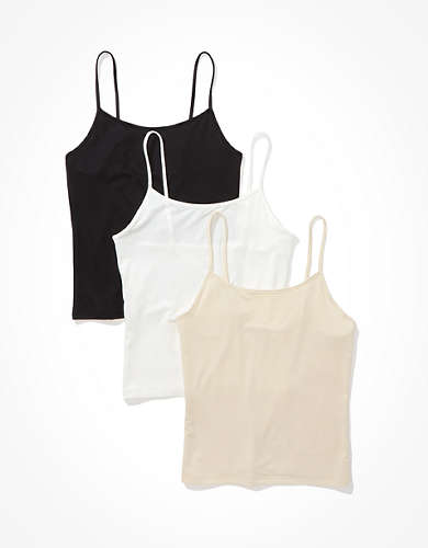 AE Scoop Neck Cami 3-Pack