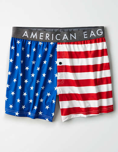 AEO Stars + Stripes Flex Boxer