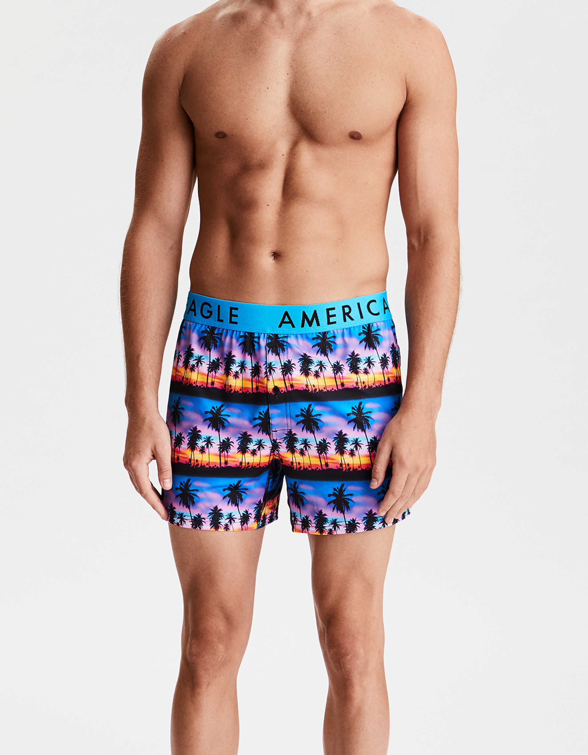 "AEO Photoreal Sunset 4"" Flex Boxer"