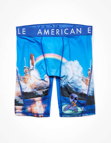 "AEO Alien Shuttle 9"" Flex Boxer Brief"