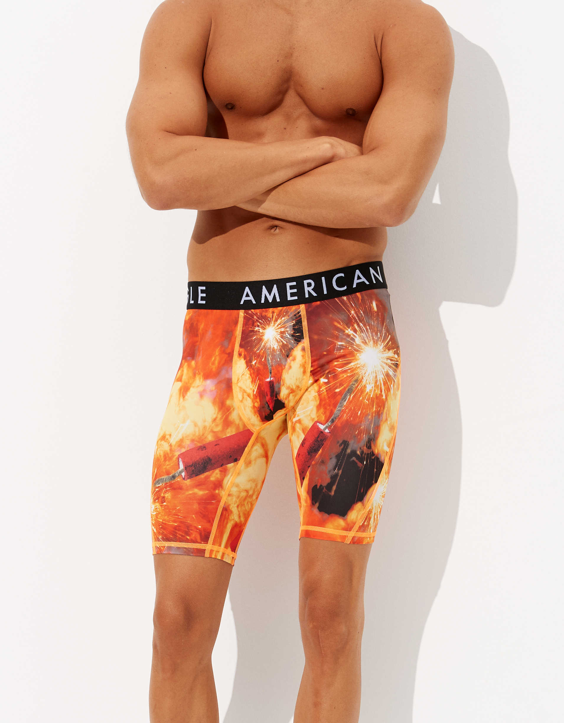 "AEO Dynamite 9"" Flex Boxer Brief"