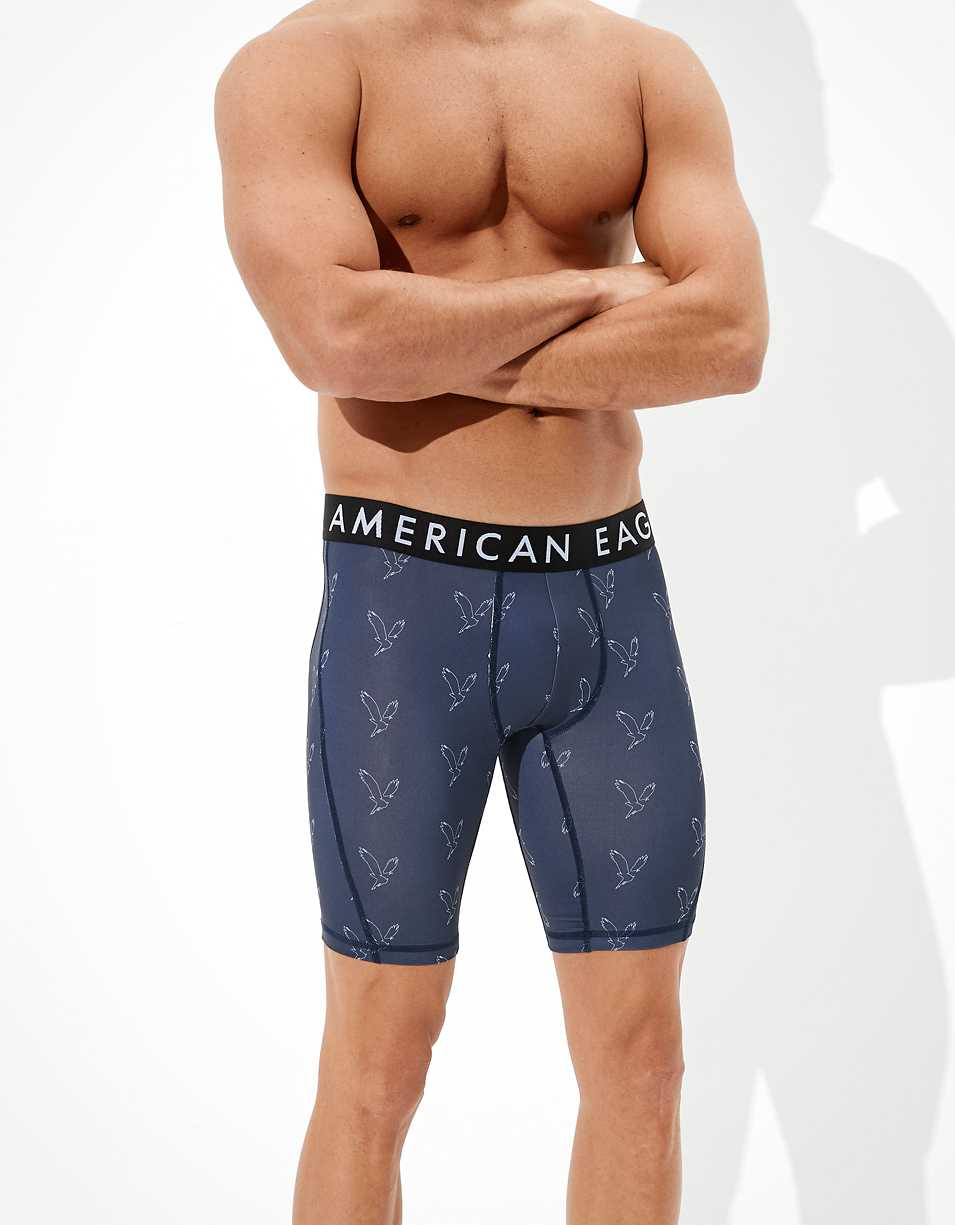 "AEO Eagles 9"" Flex Boxer Brief"