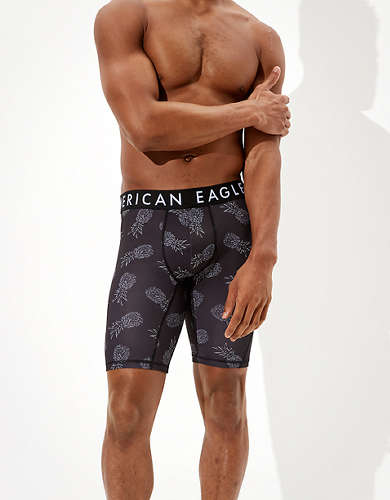 "AEO Pineapples 9"" Flex Boxer Brief"