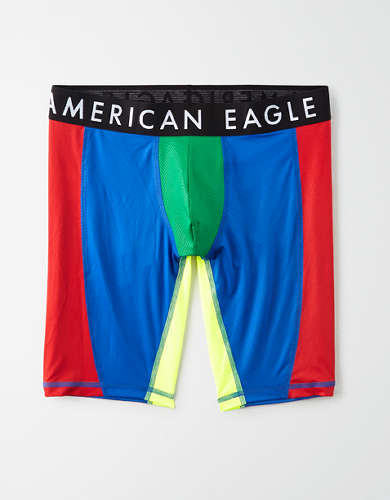 "AEO Color Block 9"" Flex Boxer Brief"