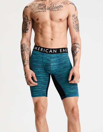 "AEO Space Dye 9"" Flex Boxer Brief"