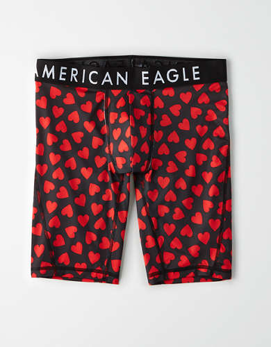 "AEO Mini Hearts 9"" Flex Boxer Brief"