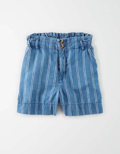 AE High-Waisted Linen Short
