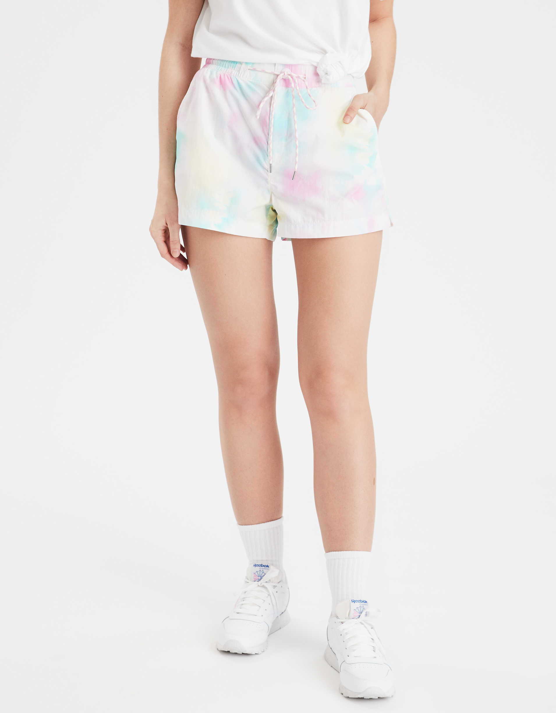 AE High-Waisted Nylon Sport Short