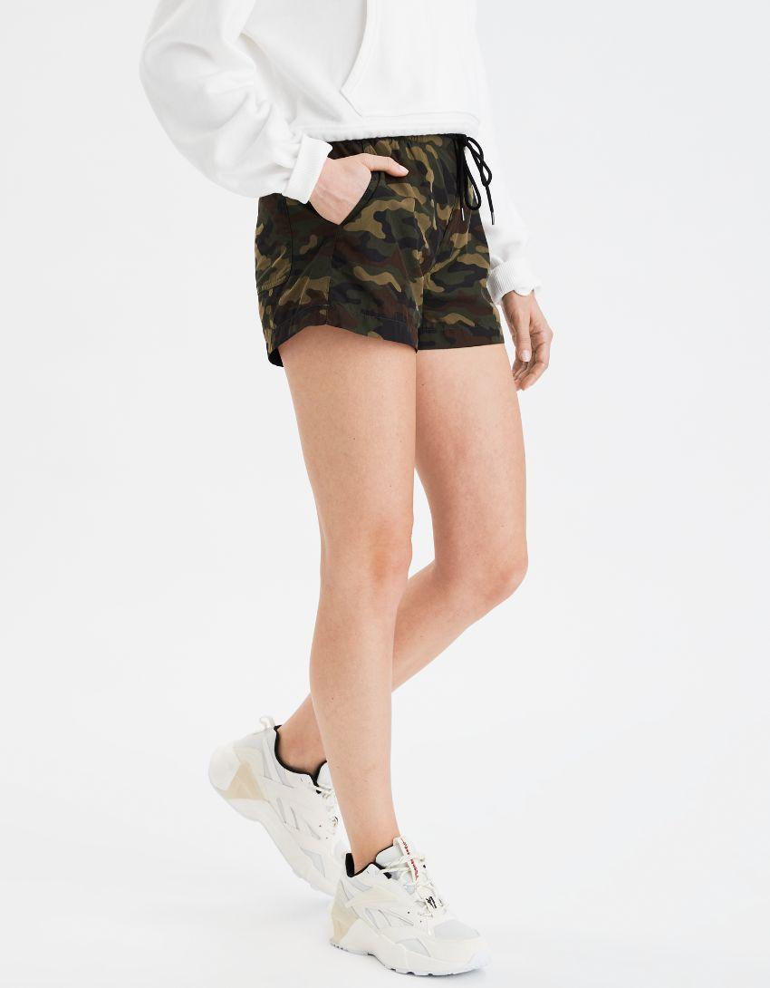 AE High-Waisted Nylon Sport Short
