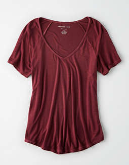 Ae Raglan Sleeve Tee by American Eagle Outfitters