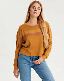 AE Striped Long Sleeve T-Shirt