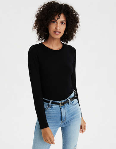 AE Long Sleeve Crew Neck Bodysuit