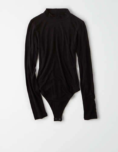 AE Long Sleeve Mock Neck Bodysuit