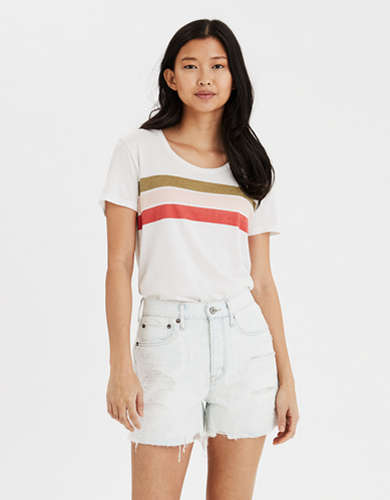 AE Chest Stripe T-Shirt