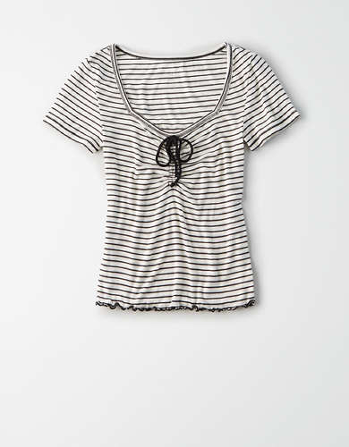 AE Cinched Front T-Shirt