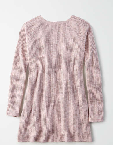 AE Soft Plush Waffle Long Sleeve T-Shirt