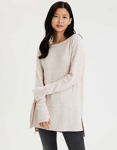 AE Soft Plush Long Sleeve T-Shirt