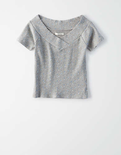 AE Off-The-Shoulder T-Shirt