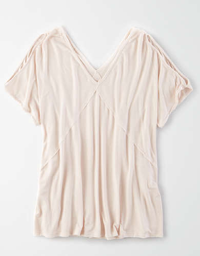 AE Cold Shoulder T-Shirt
