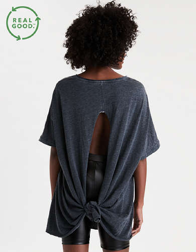AE Tie Back Tunic T-Shirt