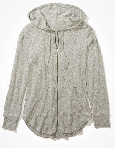 AE Plush Zip Up Hoodie