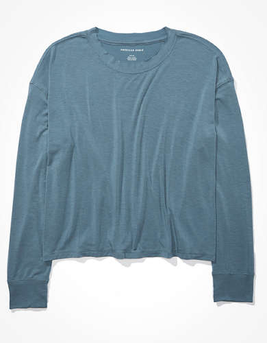 AE Long Sleeve Crew Neck T-Shirt
