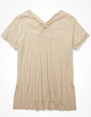 AE V-Neck Tunic T-Shirt