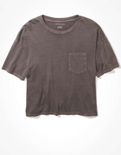 AE Cropped Crew Neck T-Shirt