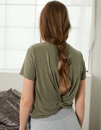 AE Twist Back T-Shirt