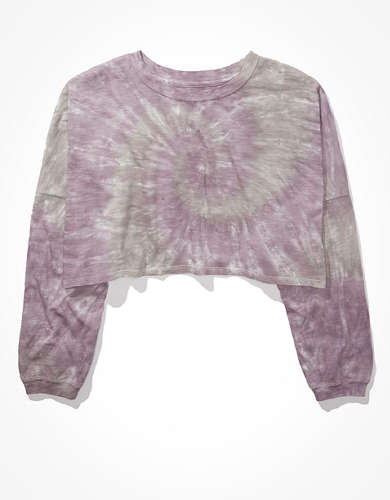 AE Cropped Long-Sleeve T-Shirt