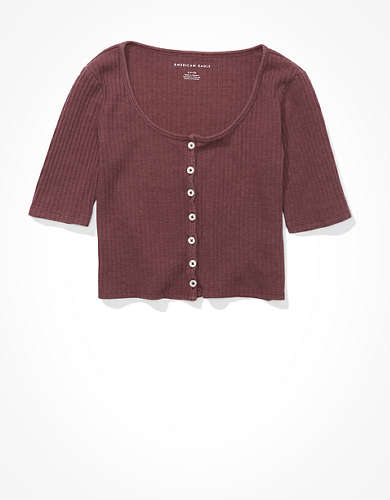 AE Button Up Baby T-Shirt