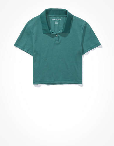 AE Super Cropped Polo Baby T-Shirt