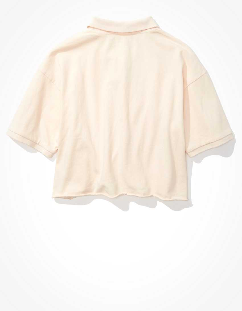 AE Cropped Polo Shirt