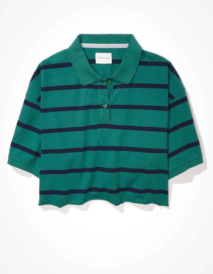 AE Cropped Polo T-Shirt