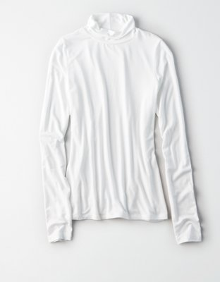 ae long sleeve mock neck t shirt true black american eagle outfitters Wearing Sleeve this review is fromae long sleeve mock neck t shirt