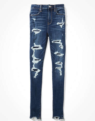 AE Ne(x)t Level Patched Super High-Waisted Jegging