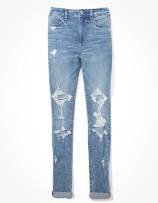 AE Dream Ripped Super High-Waisted Jegging