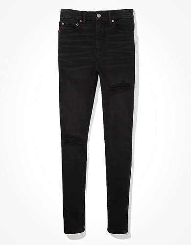 AE Lu(x)e Ripped Super High-Waisted Jegging