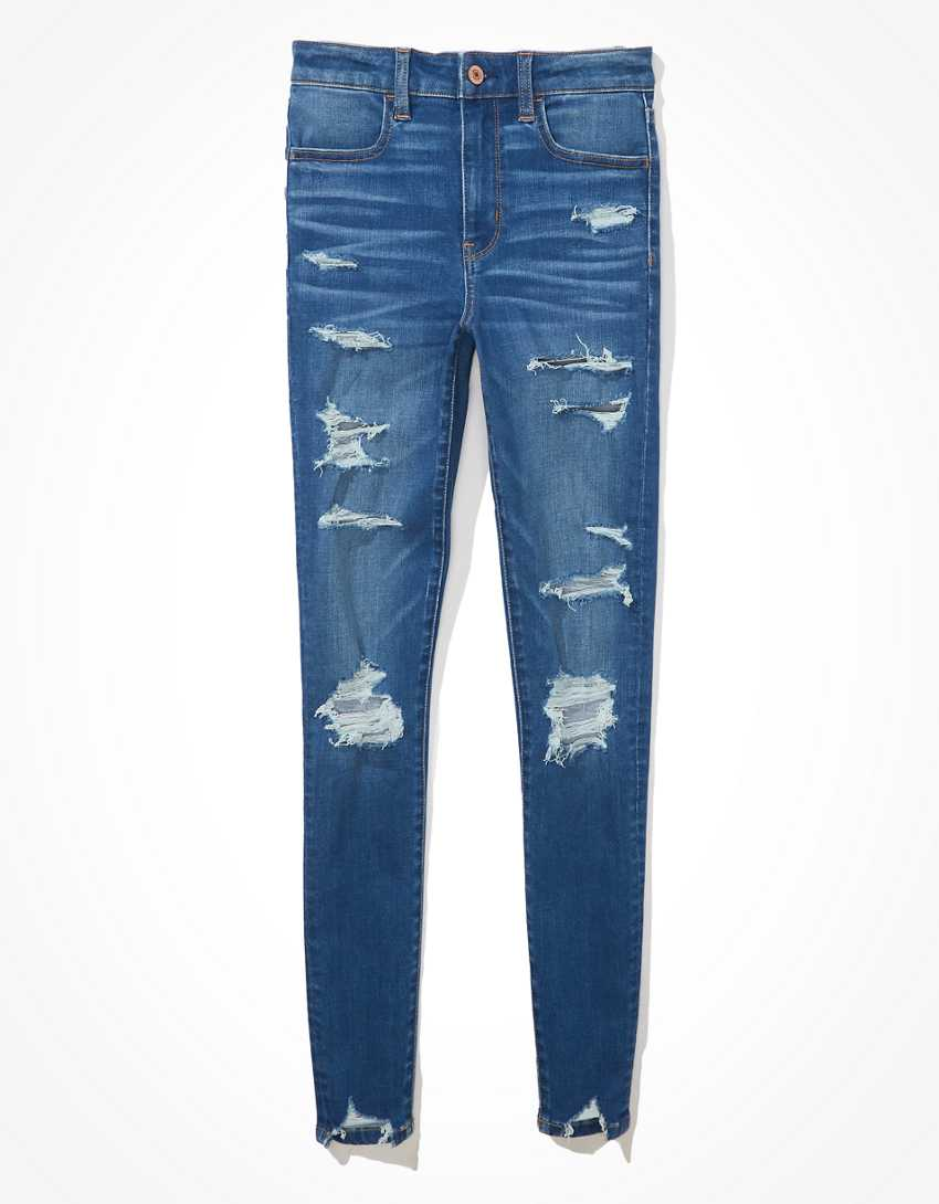 AE Ne(x)t Level Temp Tech Ripped Super High-Waisted Jegging